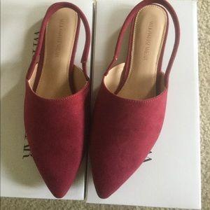 Plat shoes,